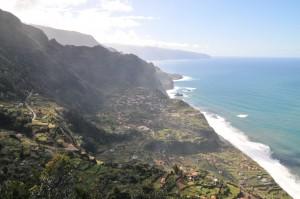 Madeira Landschaft Nordküste bei Seixal