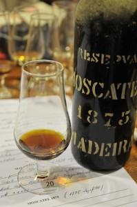 Madeira Moscatel aus dem Jahr 1875