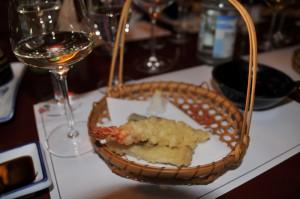 Tempura und Wein, Sushi und Weinseminar