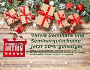 VINVIA Weihnachtsaktion